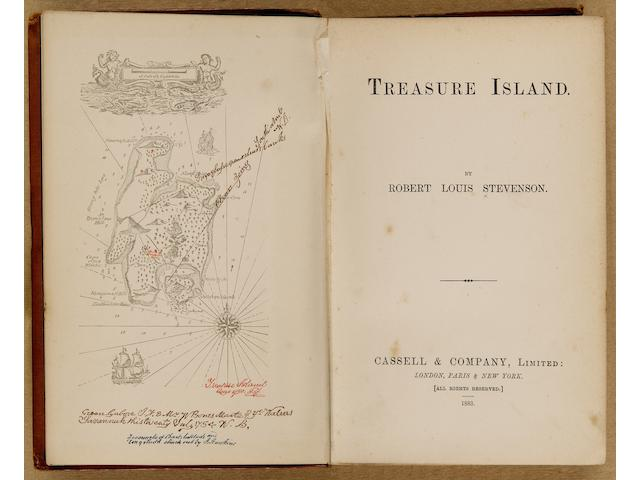 STEVENSON (ROBERT LOUIS) Treasure Island