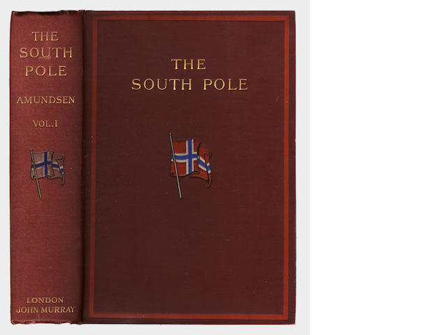 "AMUNDSEN (ROALD) The South Pole: an Account of the Norwegian Antarctic Expedition in the ""Fram"", 191"