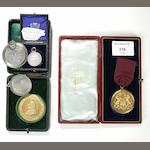 Five various Medals