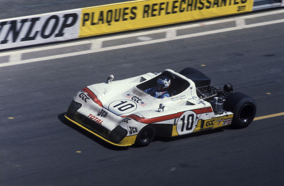 The Ex-Vern Schuppan/Jean-Pierre Jaussaud, Jean-Louis Lafosse/Francois Migault – Le Mans 3rd place 1975 – 2nd place 1976,1974-75 Gulf Mirage-Cosworth GR8 Endurance Racing Sports-Prototype  Chassis no. 802 Engine no. DFV 941