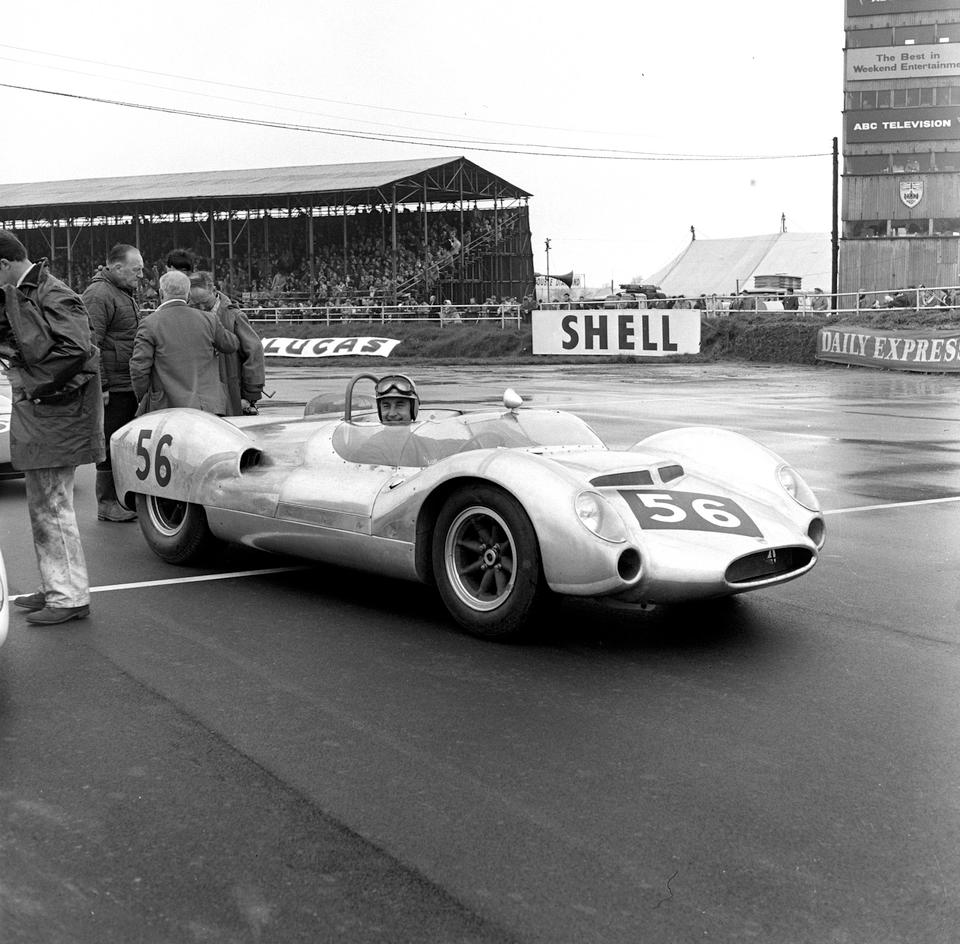 The Ex-Roy Salvadori/C.T. 'Tommy' Atkins,1964 Cooper-Maserati Type 61(M) V8 Monaco 'Mark V' Sports-Racing Two-Seater  Chassis no. 151-010 (see text) Engine no. 151-010