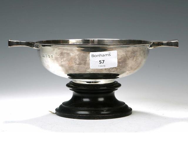 A silver Quaich