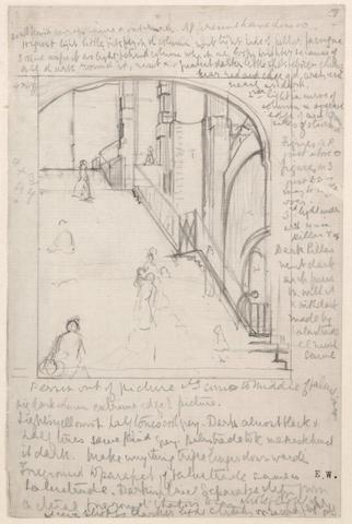 Dame Ethel Walker, D.B.E., A.R.A. (1861-1951) Steps in Paris