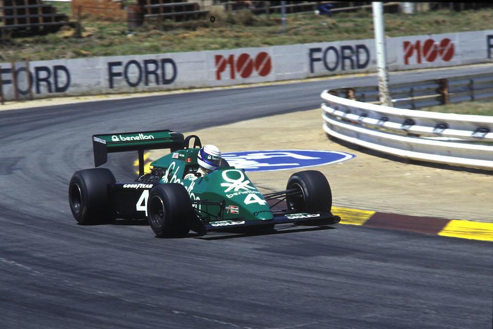 The Ex-Martin Brundle/Michele Alboreto/Stefan Bellof,1983-84 Tyrrell-Cosworth 012 Formula 1 Racing Single-Seater  Chassis no. 012/1