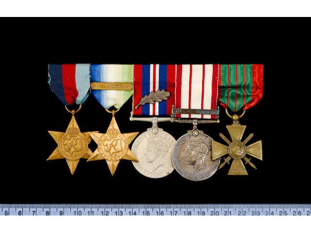 Five to Lieutenant E.A.Parsons, Royal Naval Reserve,