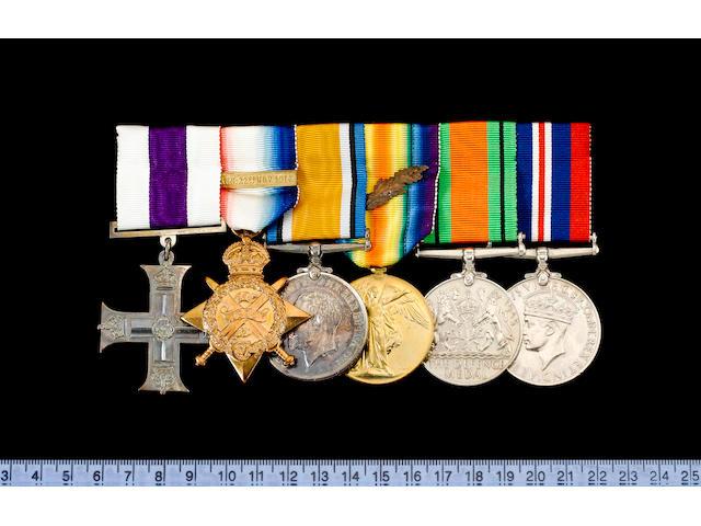 A Great War M.C. group of six to Captain A.H.M.Bell, 3rd Hussars,
