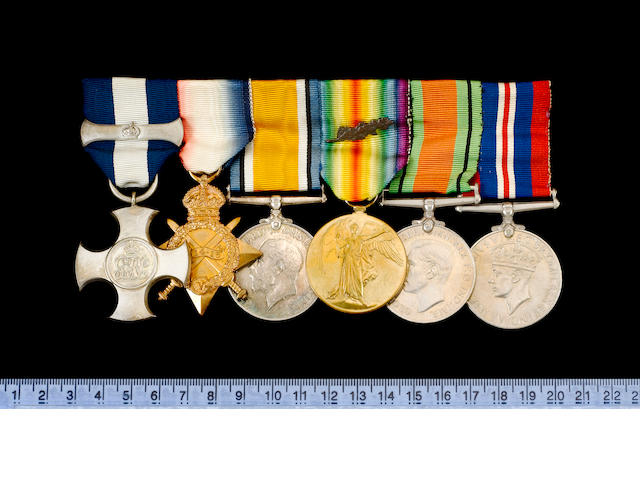 A Great War D.S.C. and bar group of seven to Captain H.O.Joyce, Royal Navy,