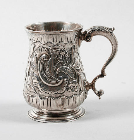 A George III mug