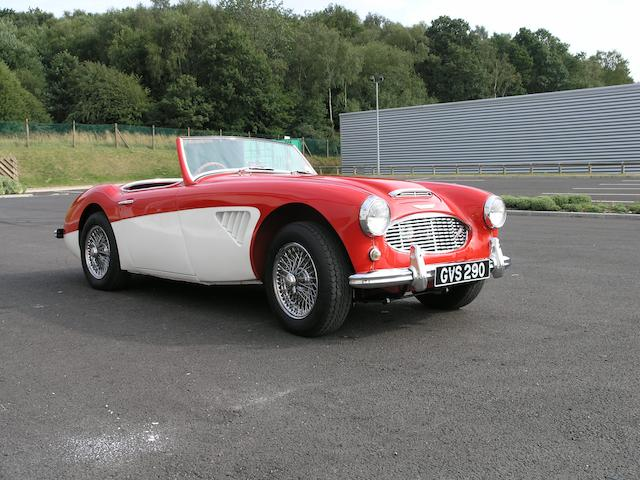 1960 Austin-Healey 3000 MkI Roadster  Chassis no. H-BN7-L/10174 Engine no. 29D-RU-H/17082