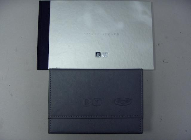 A Rolls-Royce Silver Seraph handbook and brochure,