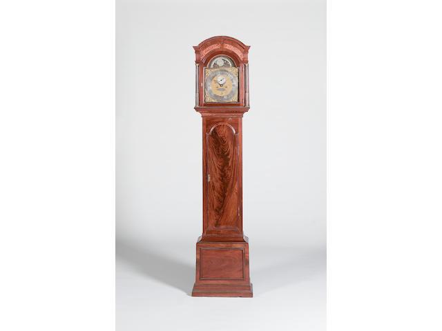 A third quarter of the 18th century mahogany longcase clock Humphrey Sellon, London