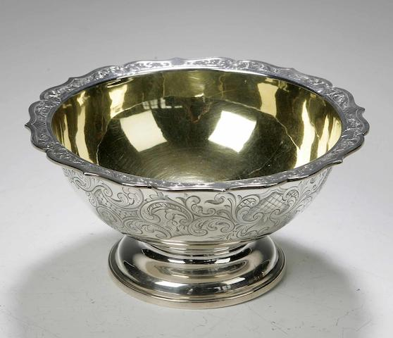 A Victorian Sugar Bowl By James and William Marsh, Edinburgh, 1842,