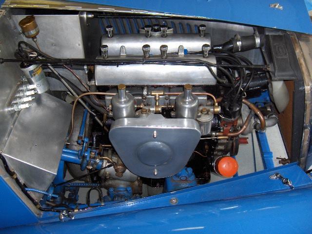 1937 Riley 1½-Litre 12/4 Kestrel/Sprite Special Sports  Chassis no. SS27K5855 Engine no. SSK5855