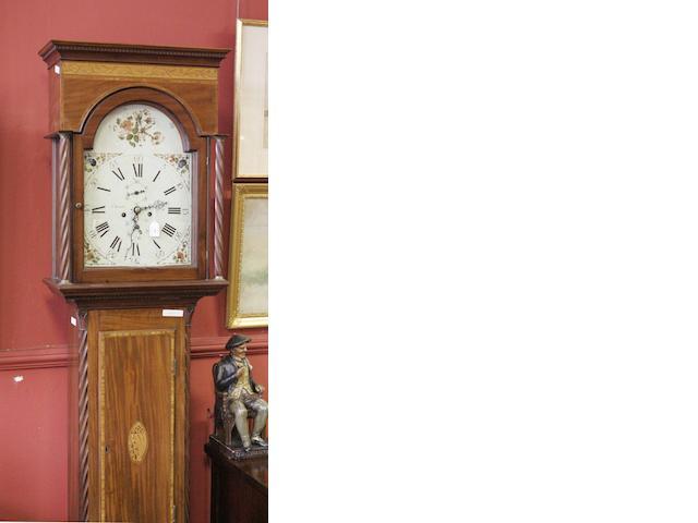 A George III mahogany longcase clock,