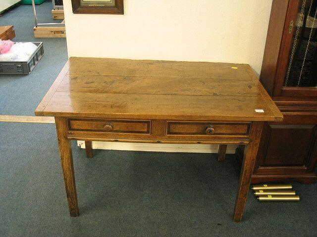 A 19th Century elm table