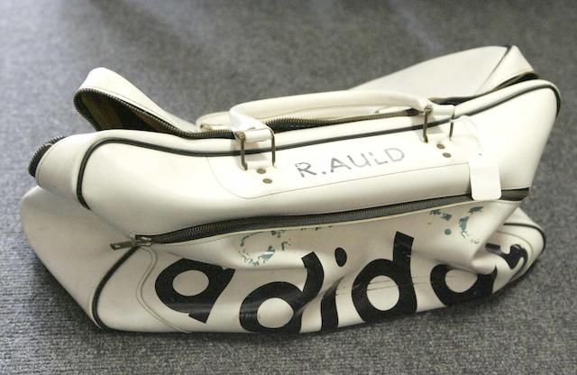 Bertie Auld's 1967 Adidas bag