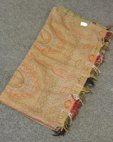 A Paisley shawl, circa 1850,