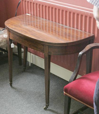 An early 19th century Edinburgh tea table