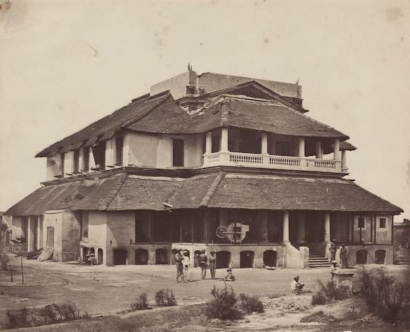 BEATO (FELICE) 'Banks's Bungalow', 1857-8
