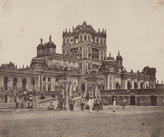BEATO (FELICE) Two views in Lucknow, 1857-9