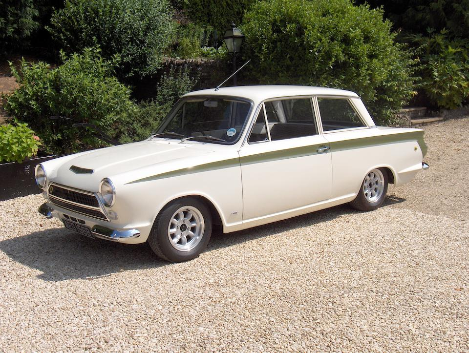 1964 Ford Lotus Cortina Mk1 Special Equipment Saloon  Chassis no. Z74D424157 Engine no. LP1533