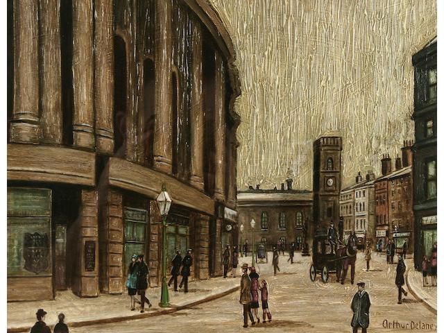 Arthur Delaney (1927-1987) St. Anne's Square, Manchester,