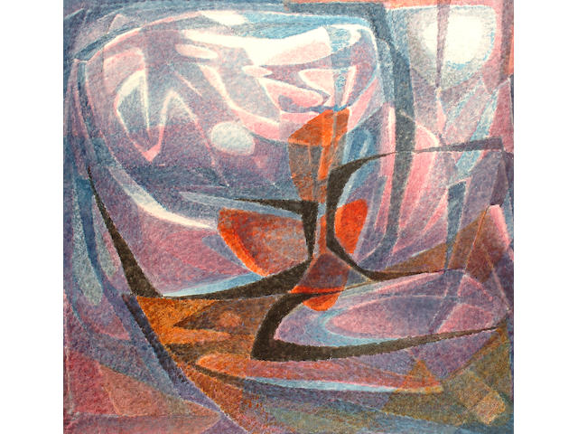 Philipp Pfeifer (German, 1879-1979) Meditation.