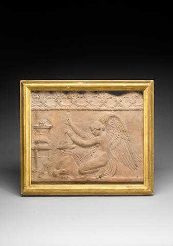 "A Roman terracotta ""Campana"" relief"
