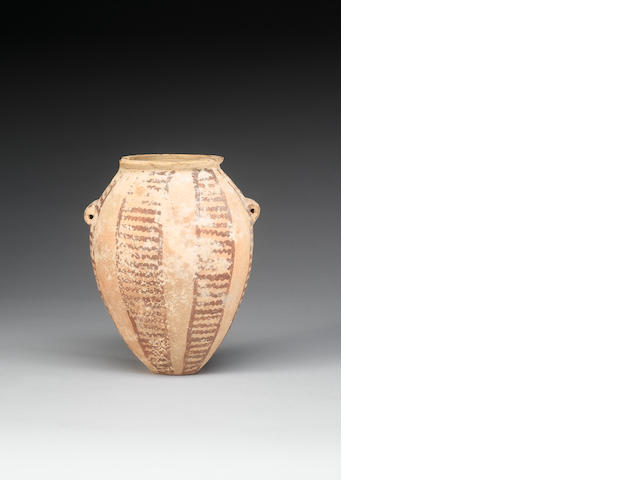 An Egyptian Pre-Dynastic pottery jar