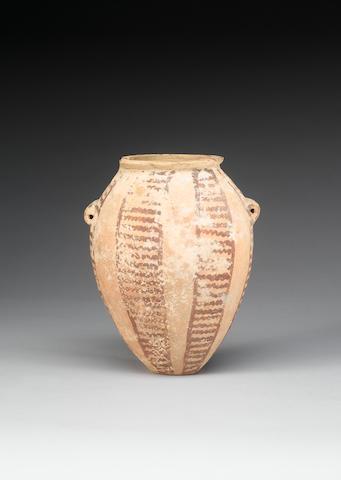 An Egyptian Pre-Dynastic pottery jar