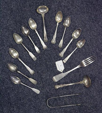 A collection of Edinburgh Flatware