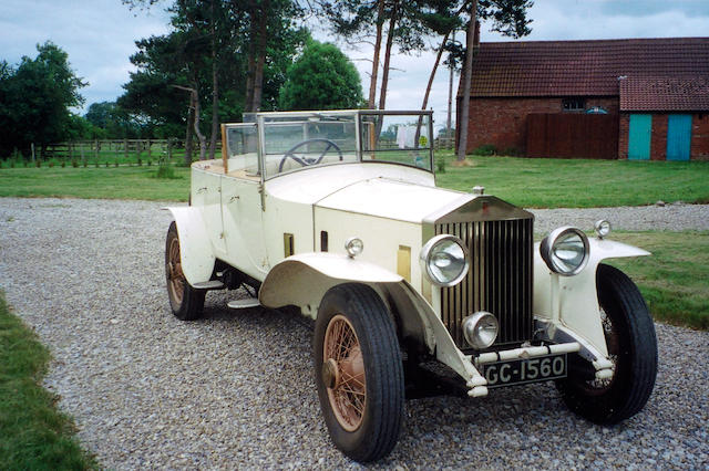 1929 Rolls-Royce 40/50hp Phantom II Tourer  Chassis no. 72WJ Engine no. LV65