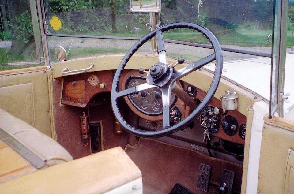 1929 Rolls-Royce 40/50hp Phantom II Tourer  Chassis no. 72WJ Engine no. LV65