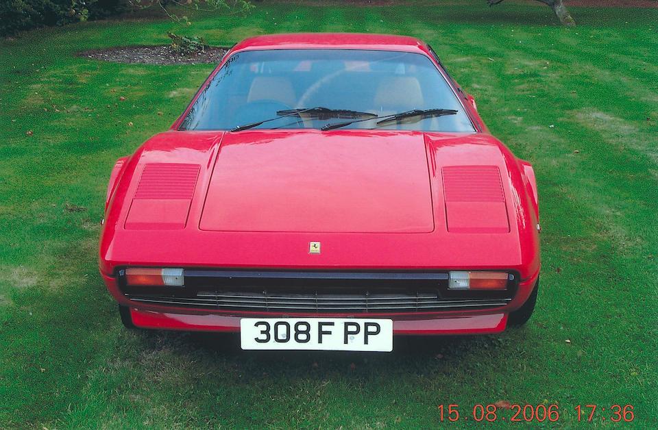 1981 Ferrari 308GTB Coupé  Chassis no. 31161 Engine no. 31161
