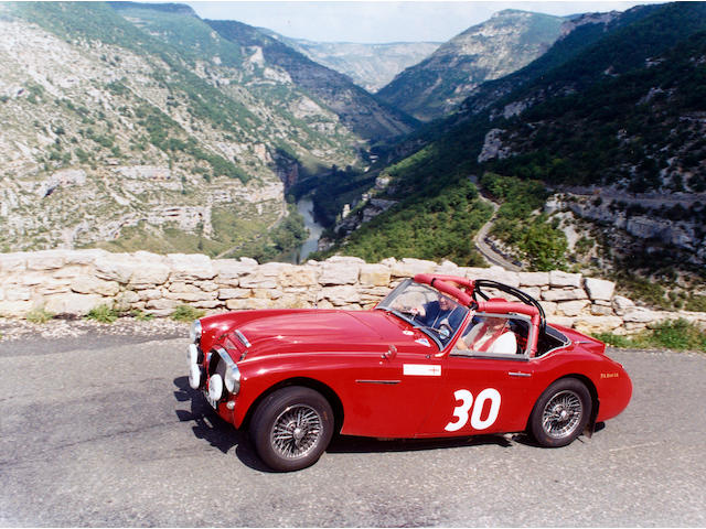 1961 Austin-Healey 3,000 MkII Rally Car HBT7L/14480