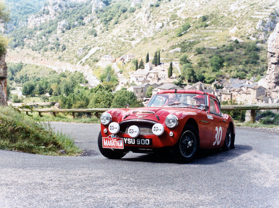 1961 Austin-Healey 3,000 MkII Rally Car  Chassis no. HBT7L/14480 Engine no. 29EARUH994