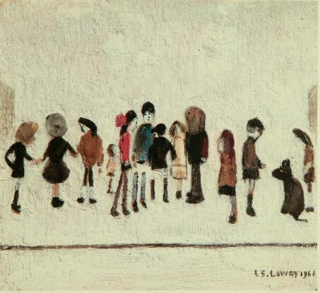 Laurence Stephen Lowry (1887-1976) 'Group of Children'