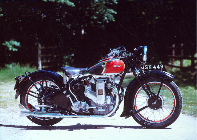 The ex-John Griffith,1945 Triumph 498cc Speed Twin