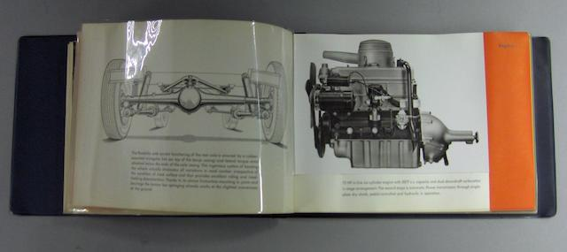 An interesting BMW factory publicity booklet, 1950s,