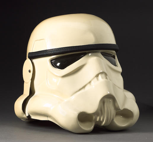Star Wars, 1977: an original prototype Stormtrooper helmet,