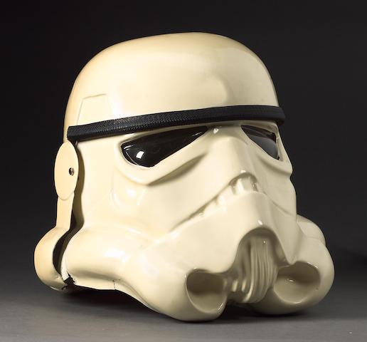 Star Wars, 1977: an original prototype Stormtrooper helmet,