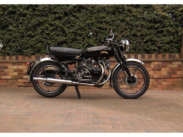 1955 Vincent 998cc Rapide Series D  Frame no. D12634 Engine no. F10AB/2/10734