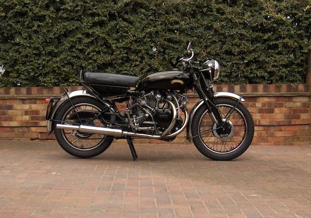 1955 Vincent 998cc Rapide Series D  Frame no. D12634 Engine no. F10AB/2/10734