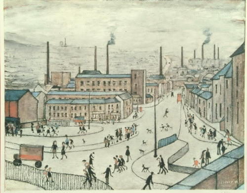 Laurence Stephen Lowry (1887-1976) 'Huddersfield'
