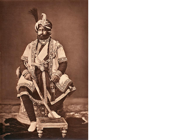 BOURNE & SHEPHERD Ranbir Singh, Maharaja of Jammu and Kashmir, and another, 1877