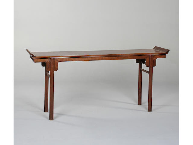 A Chinese hau li altar table,