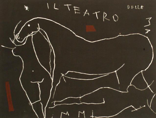 Marino Marini (Italian, 1901-1980) Il Profondo II (Guastella A163)
