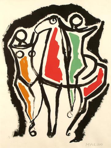 Marino Marini (Italian, 1901-1980) Ceramica I (Guastella 60)
