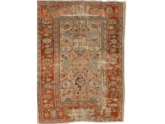A Ziegler carpet West Persia, 10 ft 5 in x 7 ft 11 in (315 x 241 cm) wear