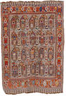 A Khamseh rug South West Persia, 6 ft 7 in x 4 ft 8 in (200 x 142 cm)